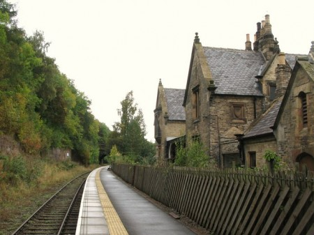 wolsingham station 450x337 Down the Dale from Wolsingham Incorporating the Weardale Way
