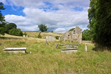 Abandoned St Mary's Church at Brignall