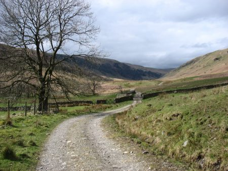 The Bannisdale track